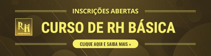 CURSO DE RH BÁSICA – INSCRIÇÕES ABERTAS